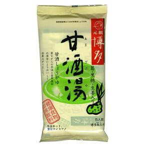 同梱可能 博多甘酒湯 生姜湯 博多鳥土本舗 国産生姜使用 元祖博多の名産品(20g×5袋)3704x3個セット/卸
