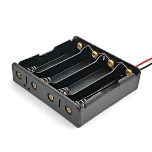 18650充電池 並列4本用 電池ケース バッテリーボックス バッテリーケース リード線付 1個 即納可能