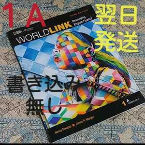WORLDLINK 1A《書き込み無し》シリアルナンバー未使用(写真⑨)送料込み!翌日発送!