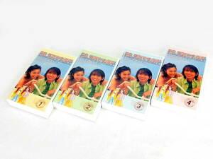 1円 美品 ポニーキャニオン P.S.元気です、俊平 VHSテープ 12 3 4 セット DK828