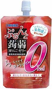 130グラム (x 8) オリヒロ ぷるんと蒟蒻ゼリー カロリーゼロ 蜜りんご 130g×8個