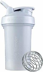 ホワイト ブレンダーボトル 【日本正規品】 BlenderBottle Classic V2 20オンス (600ml) ホワイ
