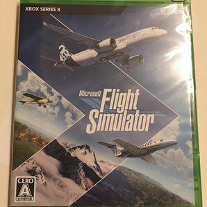 マイクロソフト Xbox エックスボックス ソフト Flight Simulator フライトシミュレーター 新品 未開封