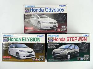5-98*TOMY assembly type radio-controller outer box unopened goods Honda Odyssey / Step WGN / Elysion / Honda Tommy set sale (ogvv)