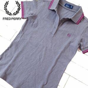 美品 (USA6)S位 フレッドペリー レディース 半袖ポロシャツ