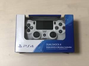新品未開封 PS4 PlayStation4 DUALSHOCK4 デュアルショック4 ワイヤレスコントローラー 純正 グレイシャーホワイト グレイシャー・ホワイト