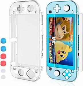 ホワイト Nintendo Switch Liteカバー HeysTop 3in1 ニンテンドースイッチライト PCケース 全面