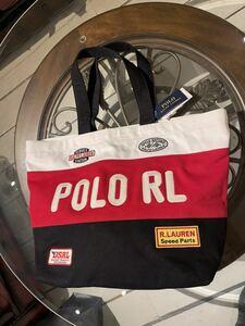新品 未使用 今期物 ポロ ラルフローレン モーターサイクル トートバッグ ラグビー ポロスポーツ RRL