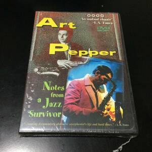 DVD【 Notes From A Jazz Survivor 】Art Pepper★新品★未開封