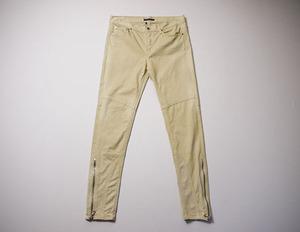 Ralph Lauren ラルフローレン スリムパンツ 正規品 W30 カラーデニムパンツ カラージーンズ ジップパンツ ストレッチ