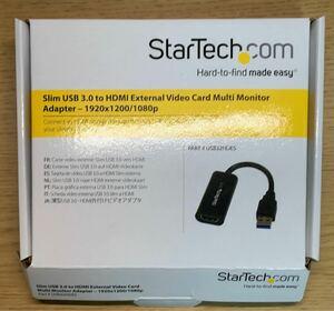 StarTech.com USB 3.0 - HDMI変換アダプタ スリムタイプ USB32HDES