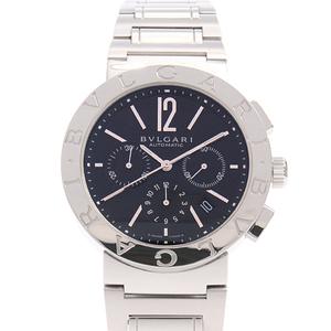 ブルガリ 腕時計 メンズ BB42SSCH ブルガリブルガリ クロノグラフ 自動巻き SS ステンレス BVLGARI【中古】