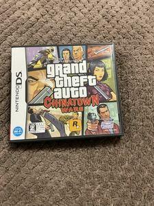 送料無料! グランド・セフト・オート チャイナタウン Grand Theft Auto Chinatown Wars GTA グラセフ ニンテンドーDS DSソフト