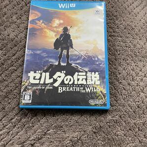 送料無料 ゼルダの伝説ブレスオブザワイルド WiiU ソフト