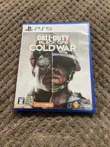 送料無料 コールオブデューティ ブラックオプス コールドウォー PS5 ソフト カセット call of duty cold war