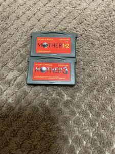 送料無料! MOTHER1+2 MOTHER3 マザー1+2 マザー3 アドバンス GBA ソフト カセット
