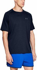 [アンダーアーマー] UAテック2.0 ショートスリーブ Tシャツ メンズ 1358553 Academy / / Graphite LG 日本サイズL