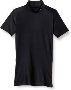[ミズノ] トレーニングウェア コンプレッション ドライアクセルバイオギアシャツ 半袖 吸汗速乾 ストレッチ メンズ ブラック Mサイズ
