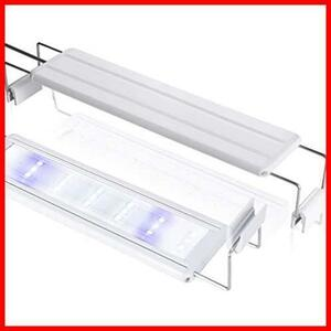 2w 新品 ledアクアリウムライト 水槽ライト 10W 39個LED 50~60cm対応 迅速対応 熱帯魚/観賞魚飼育・水草育成・水槽照明用 LEDGLE 省エネ