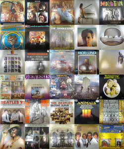 21009024;【ALL輸入盤!スタッフ厳選名盤SET!】②ALL IMPORT PRESS 洋楽 ROCK&POPS ALL名盤 55枚1箱セット/RY COODER,JIMI HENDRIX他