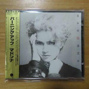 34048229;【CD/西独ターゲット盤/蒸着仕様/金シール帯】マドンナ / バーニング・アップ(38XP-87)
