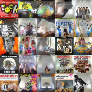 21009021;【ALL国内盤!スタッフ厳選名盤SET!】③ALL JAPANESE PRESS 洋楽 ROCK&POPS ALL名盤 44枚1箱セット/ERIC CLAPTON.THE BAND他