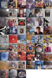 Q07142【大量!ALL国内盤!】 ALL JAPANESE PRESS ROCK & POPS 洋楽 LP80枚以上2箱セット/PAUL McCATNEY,THE BEACH BOYS他④
