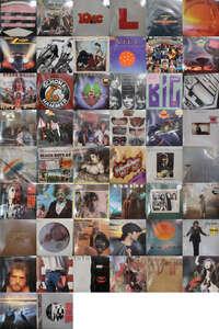 Q07153【大量!ALL輸入盤!】 ALL IMPORT PRESS ROCK & POPS 洋楽 80枚以上2箱セット/JOHN LENNON,ROXY MUSIC他④