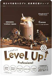 レベルアップ ココアミルク風味 成長期サポート飲料 [ 子供 カルシウム 鉄分 ] ビタブリッド 30杯分