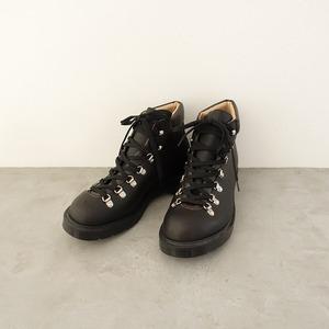 ■【未使用品】マーガレットハウエル×ソロヴェアー MHL.×SOLOVAIR *トレッキングブーツ 5/24.5*黒革靴レースアップシューズ1021【62J12】