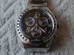 Swatch IRONY クロノグラフ 腕時計 クォーツ