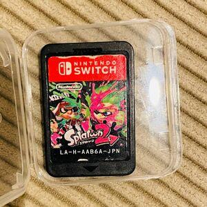 【switch】スプラトゥーン2 箱無しソフトのみ Splatoon2