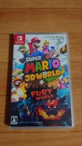 スーパーマリオ 3Dワールド+フューリーワールド ニンテンドースイッチ Nintendo Switch