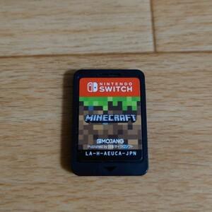 ケース無 マインクラフト ニンテンドースイッチ Nintendo Switch