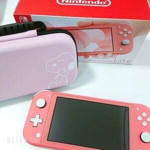【Nintendo Switch Light】スイッチライト*コーラルピンク