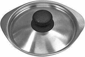 新品シルバー 蓋 柳宗理 日本製 鍋蓋 径16cm ステンレスミルクパン用ふた つや消しM2U2