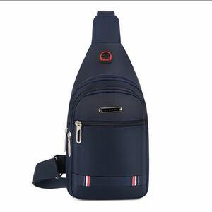 ショルダーバッグ メンズ ボディバッグ レディース 小さい 斜めがけ ポケット ベルト調節可能 イヤホン通し穴付き