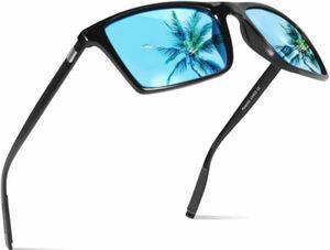 偏光サングラス ウェリントン型 偏光レンズ セット メンズ & レディース用運転用 おしゃれ サングラスUV400保護紫外線カット