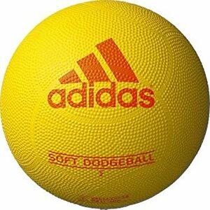 イエローxライム 2号 アディダス(アディダス) ドッジボール ジュニア ソフトドッジボール 2号球