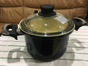 和平フレイズ減圧鍋(IH対応)深型両手鍋