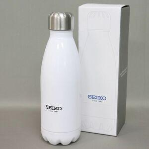★セイコー SEIKO 新品 軽量 エコ 保温 保冷 ステンレス 魔法瓶 ボトル 水筒 箱入り 420ml 白 [SEIKO1]一 ACC★QWER★