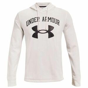 ★アンダーアーマー UNDER ARMOUR UA 新品 メンズ ソフト スウェット ビッグロゴ パーカー ジャケット 白 [13615591121N-XXL] 二 零★QWER