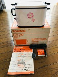 新品未使用 ZOJIRUSHI象印 揚げ物 卓上電気フライヤー