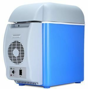 Mz2407:ミニポータブルカー 冷蔵庫 冷凍庫 多機能デュアルユースクーラー ウォーマー 熱電12v 7.5L 電気冷蔵庫 コンプレッサー