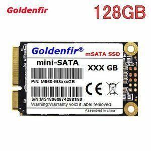 ★ 最安新品!◆ SSD Goldenfir 128GB mSATA 新品 高速 NAND TLC 内蔵 デスクトップPC ノートパソコン (a1245)