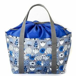 バッグ レジバッグ エコバッグ ムーミン 北欧 保冷 コンパクト 買い物かご レジカゴバッグ 大きい 大きめ 大容量 新品 未使用