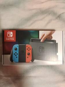 新品未開封 Nintendo Switch ニンテンドースイッチ本体 ニンテンドースイッチ ネオンブルー ネオンレッド