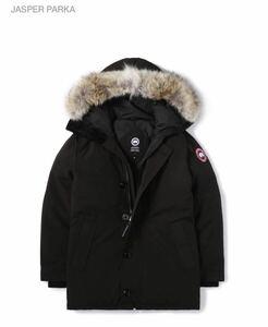【新品】国内正規品 CANADA GOOSE カナダグース ジャスパー 3438JM ブラック メンズ Sサイズ サザビーリーグ
