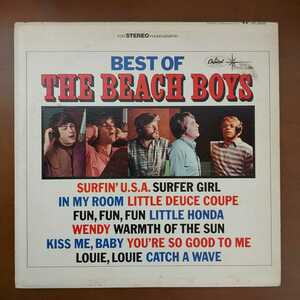 LP THE BEACH BOYS BEST サーフィンU.S.A. アメリカ盤 試聴確認済み