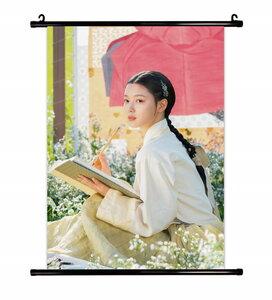 ホンチョンギ キム・ユジョン グッズ タベストリー 布ポスター 約41cm×57cm (M)